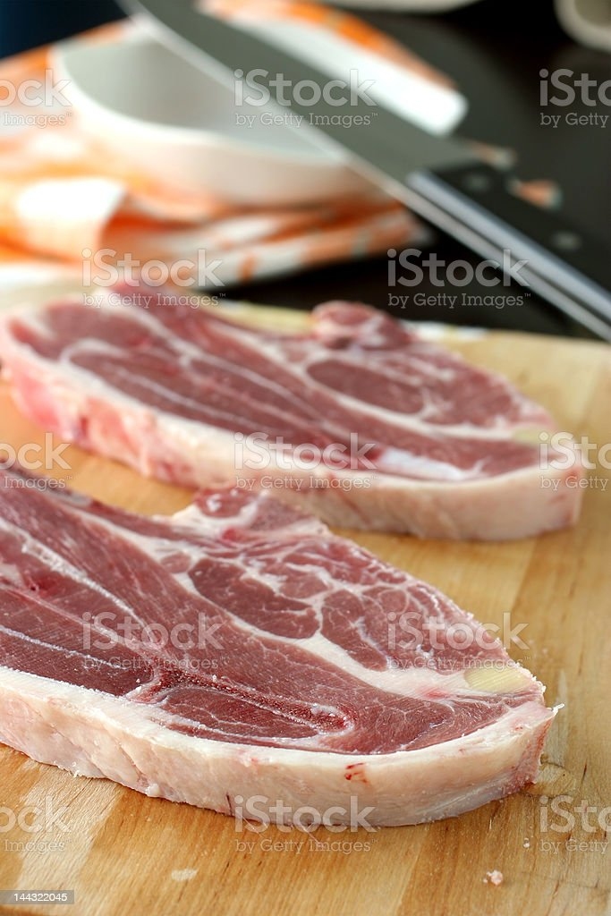 Lamb cuts royalty-free stock photo