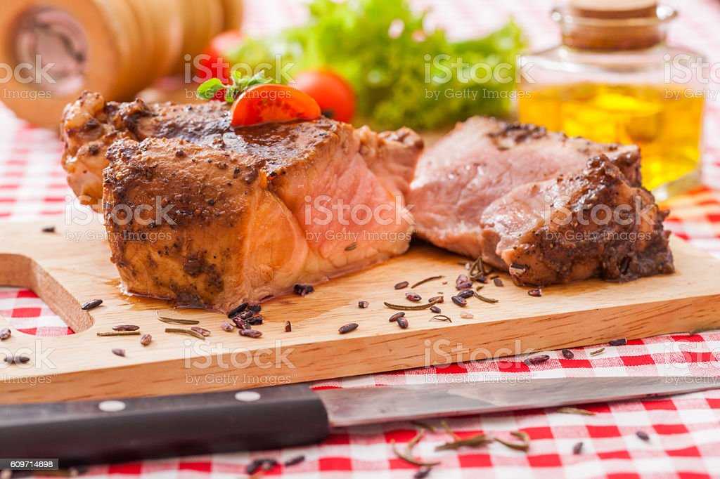 Lamb for easter stock photo