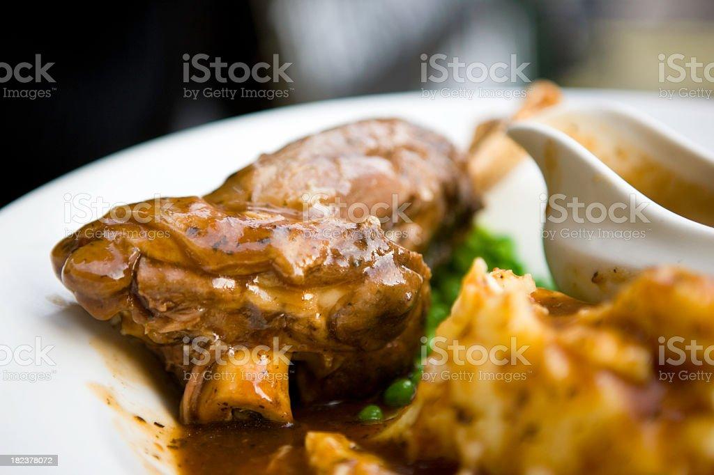 Lamb meat royalty-free stock photo