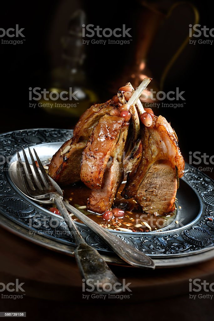 Lamb Rack IV stock photo