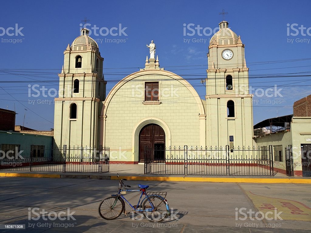 Lambayeque Peru - Cathederal stock photo
