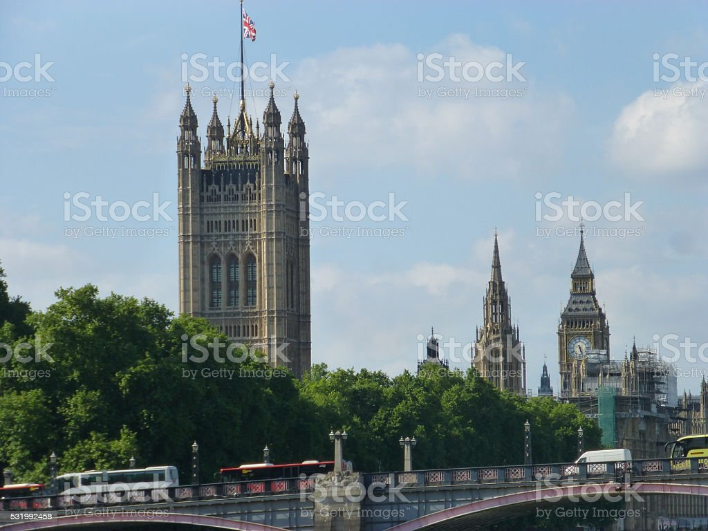 Lambeth Bridge, London, England stock photo