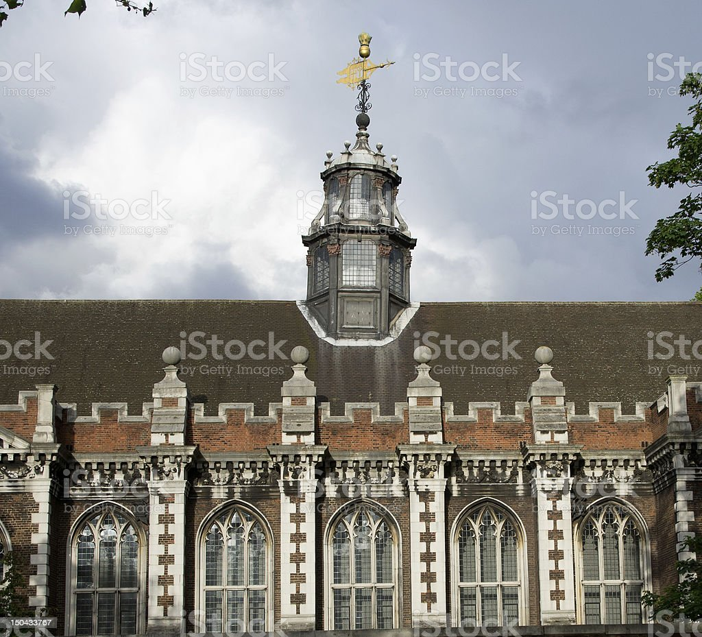 Lambeth Palace in London stock photo
