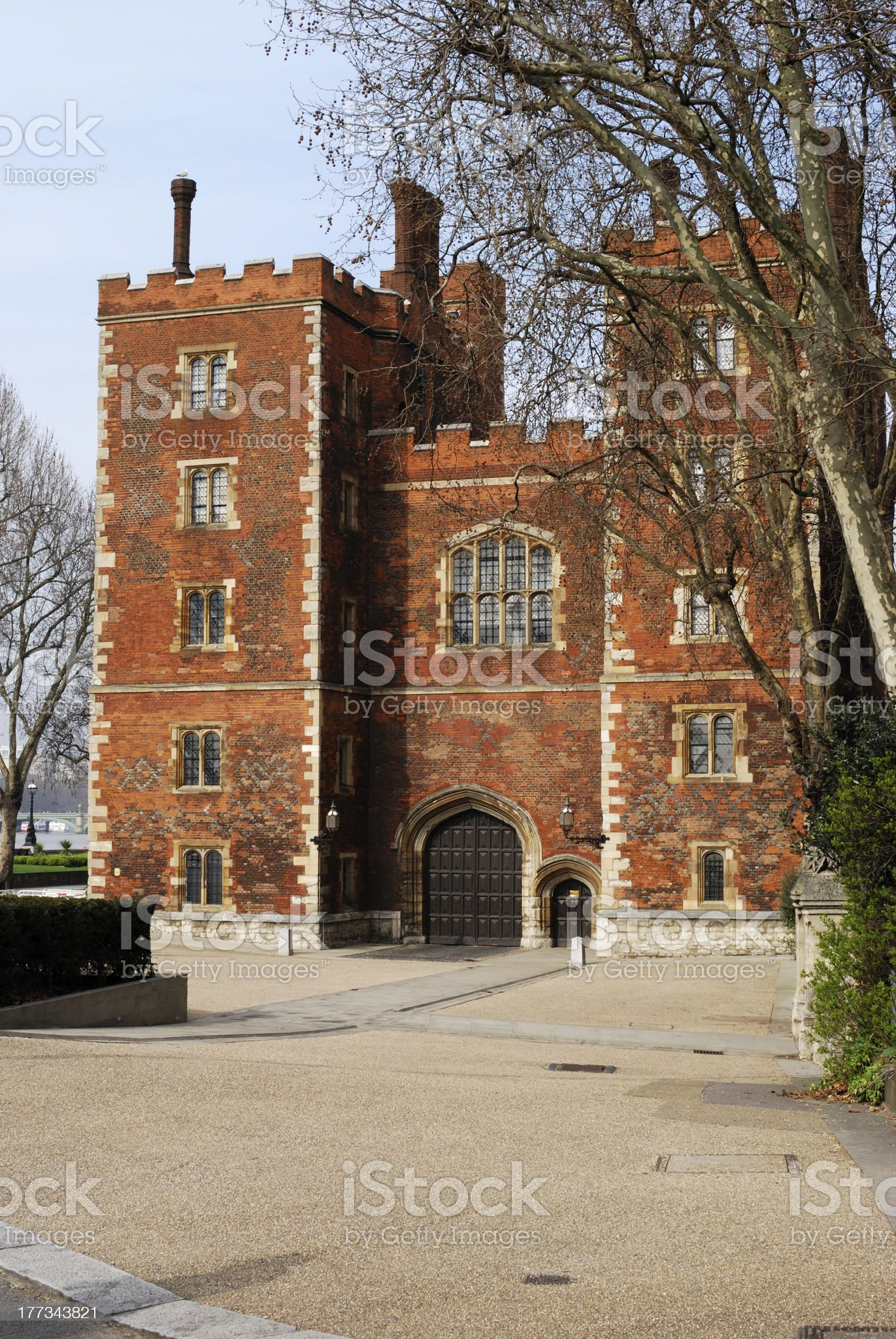 Lambeth Palace. London. England royalty-free stock photo