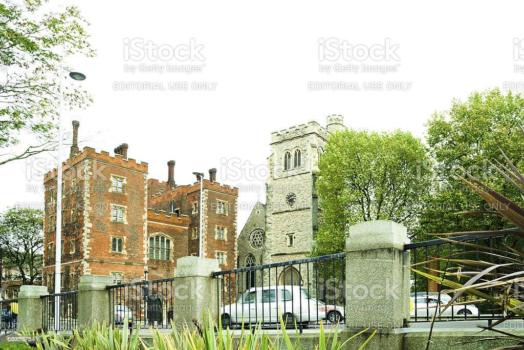 Lambeth Palace, London, UK stock photo