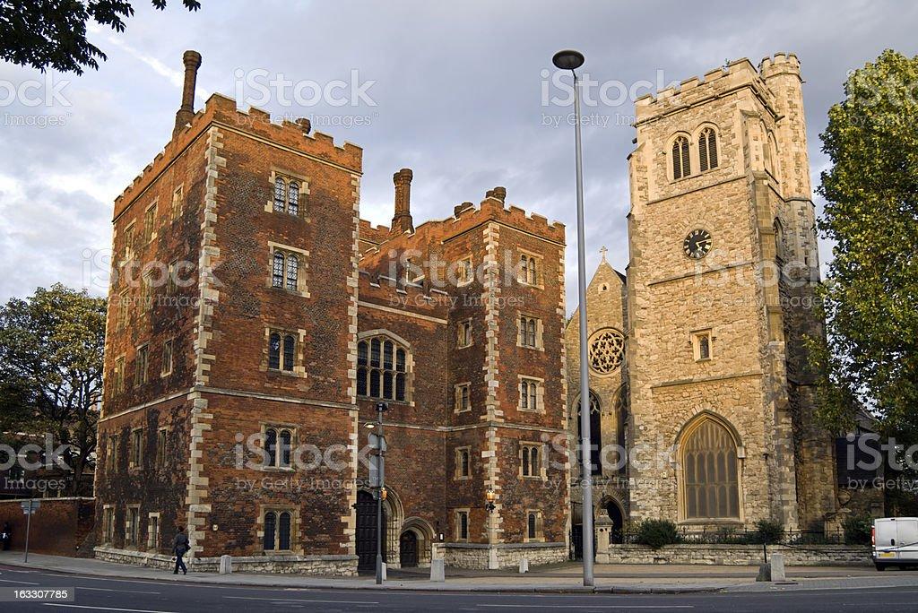 Lambeth Palace stock photo