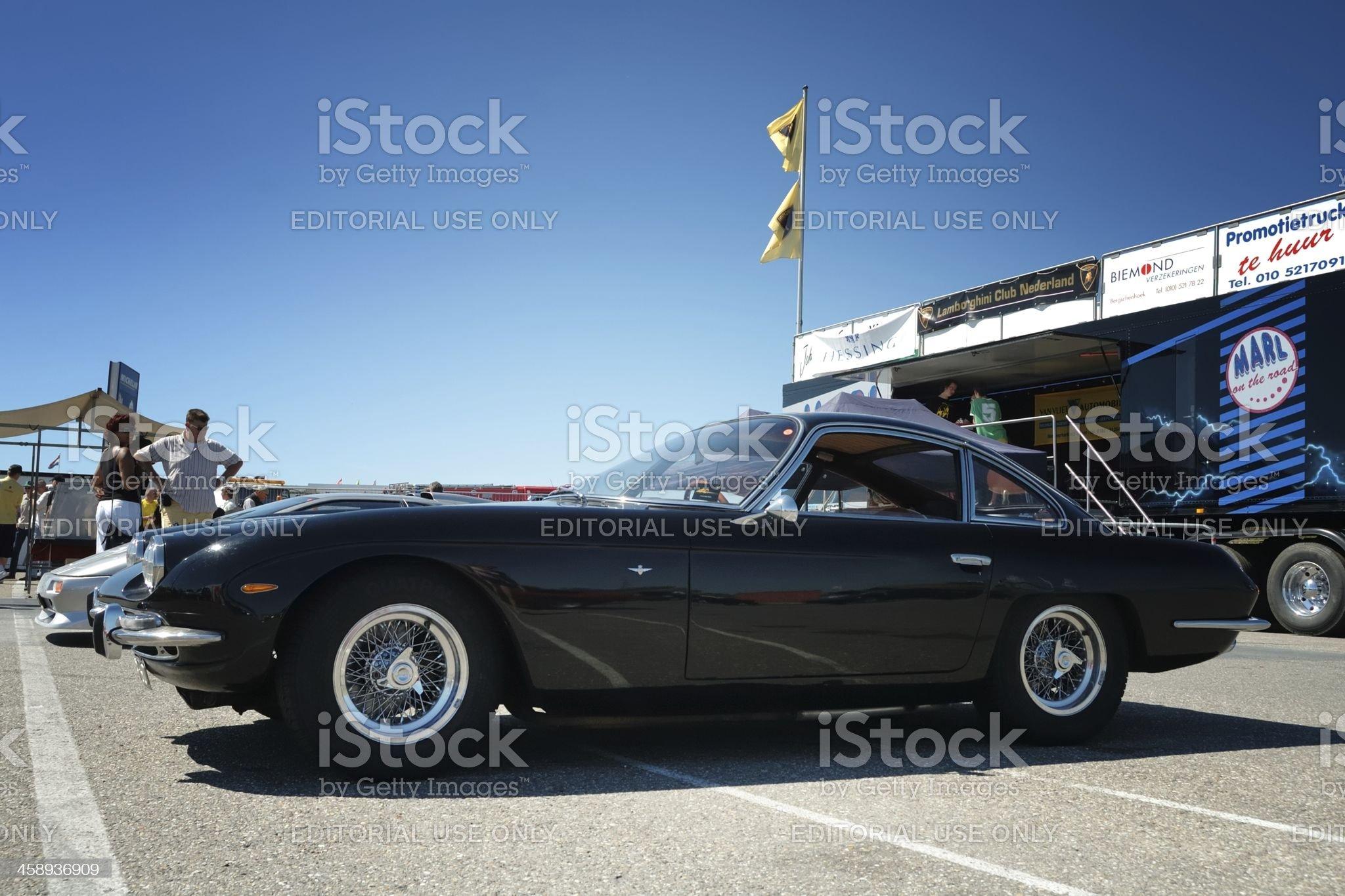Lamborghini 350 GT royalty-free stock photo