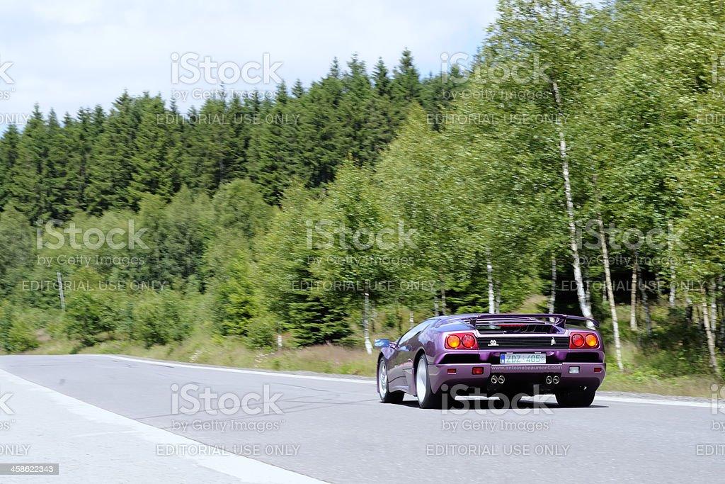 Lamborghini Diablo SE30 royalty-free stock photo