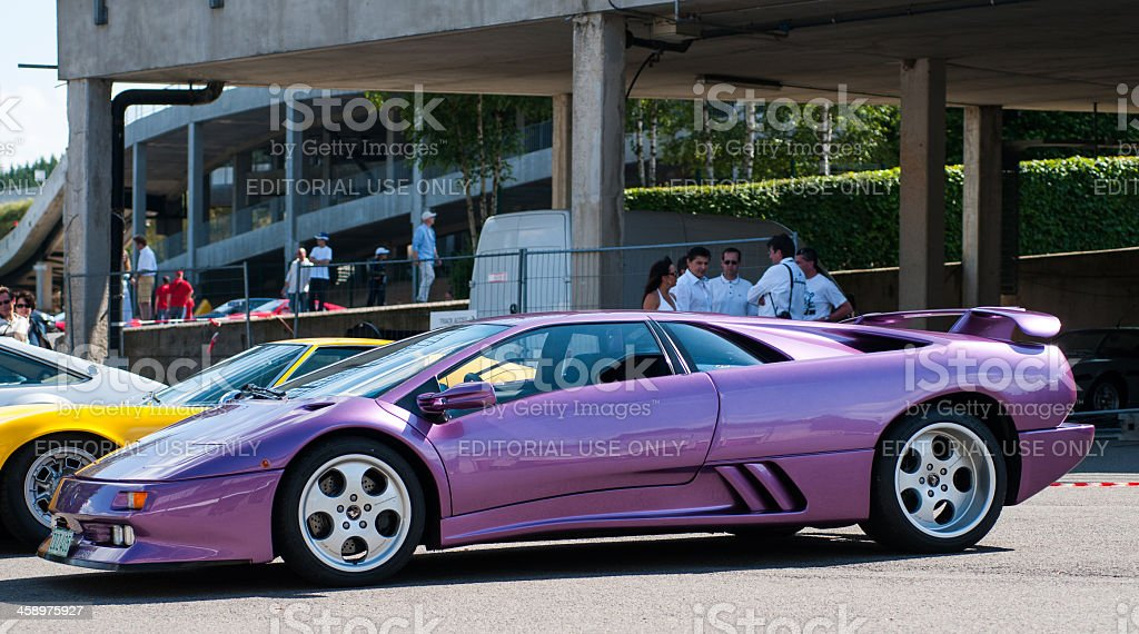 Lamborghini Diablo SE30 royalty-free stock photo