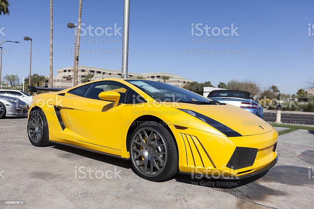 Lamborghini Gallardo 2006 royalty-free stock photo