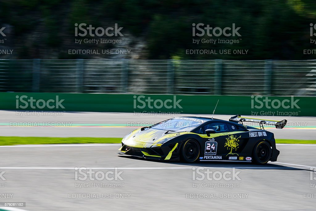 Lamborghini Gallardo LP560-4 Super Trofeo stock photo
