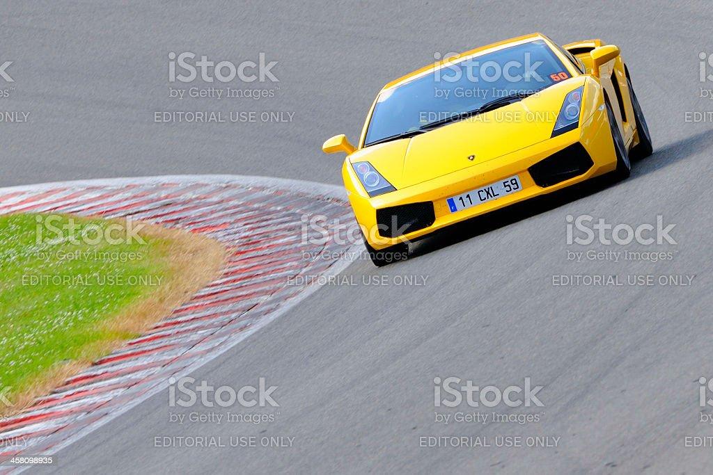 Lamborghini Gallardo stock photo