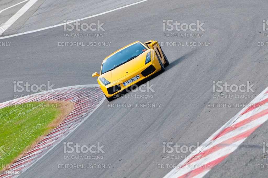 Lamborghini Gallardo royalty-free stock photo