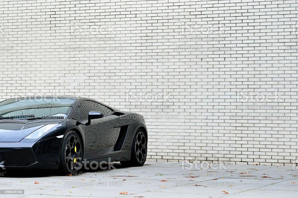 Lamborghini Gallardo royalty-free stock photo