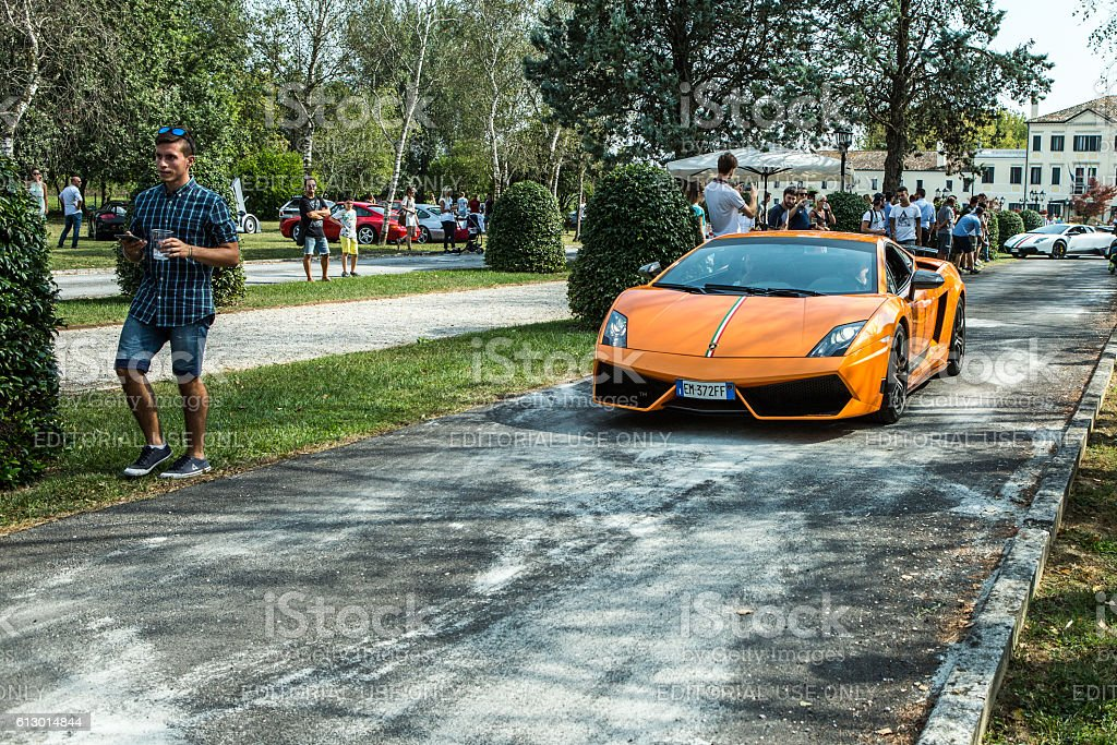Lamborghini Gallardo SL Superleggera at meeting Top Selection 2016 stock photo
