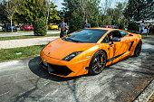 Lamborghini Gallardo SL Superleggera at meeting Top Selection 2016