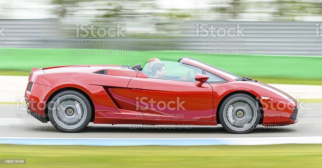 Lamborghini Gallardo Spyder stock photo
