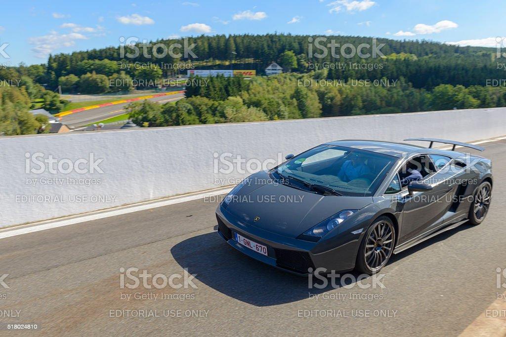 Lamborghini Gallardo Superleggera stock photo