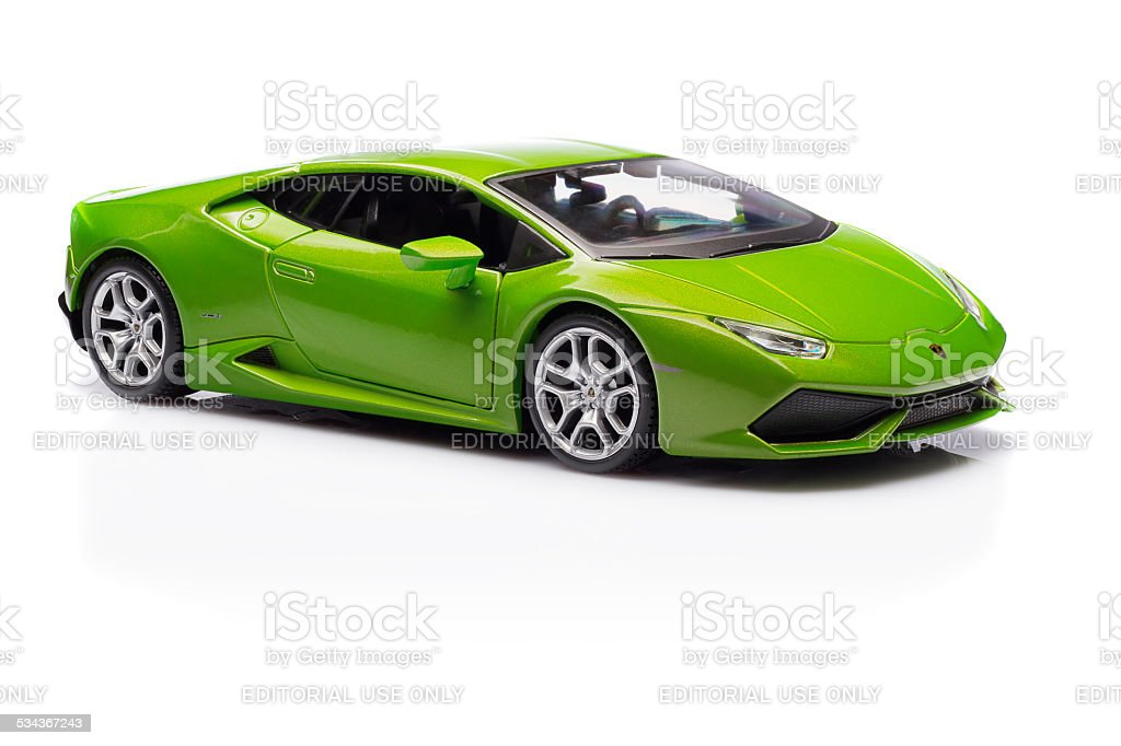 lamborghini huracan stock photo