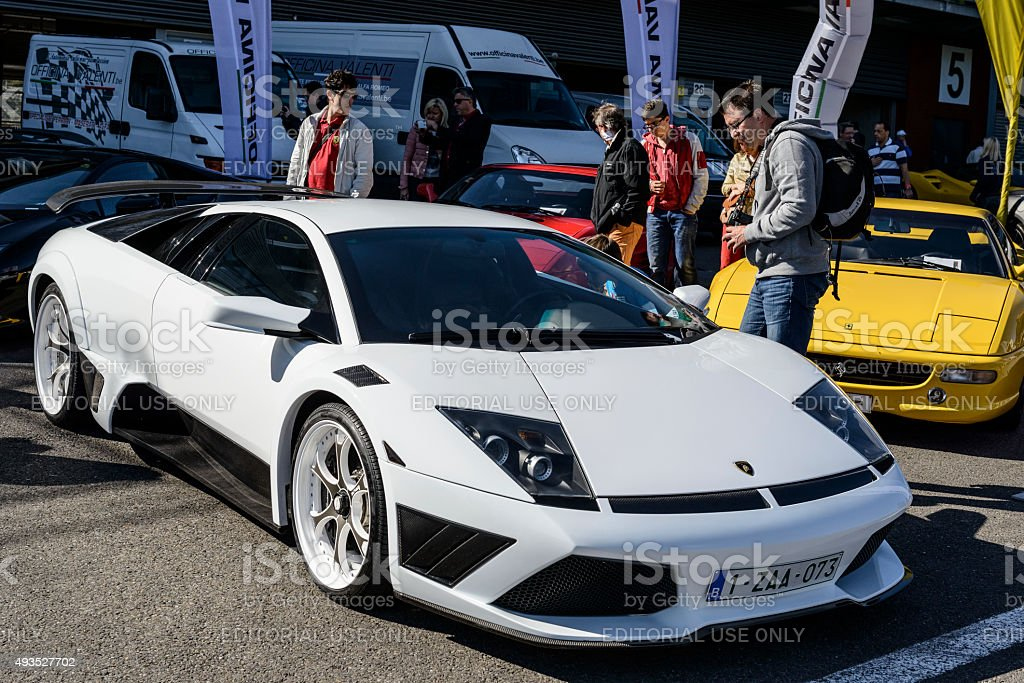 Lamborghini Murcielago LP640 IMSA stock photo