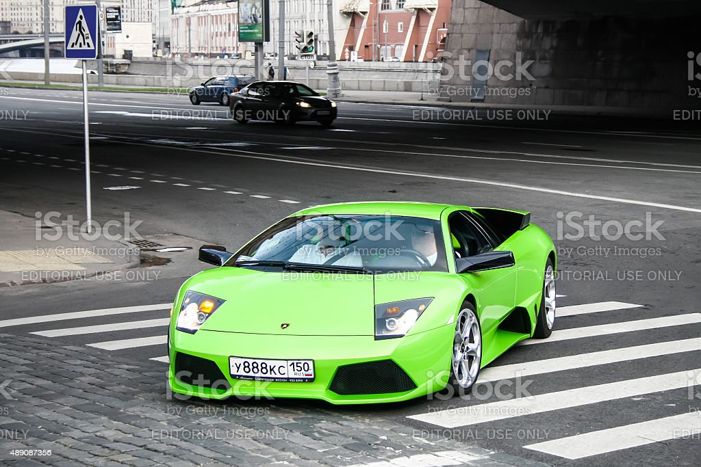 Lamborghini Murcielago stock photo