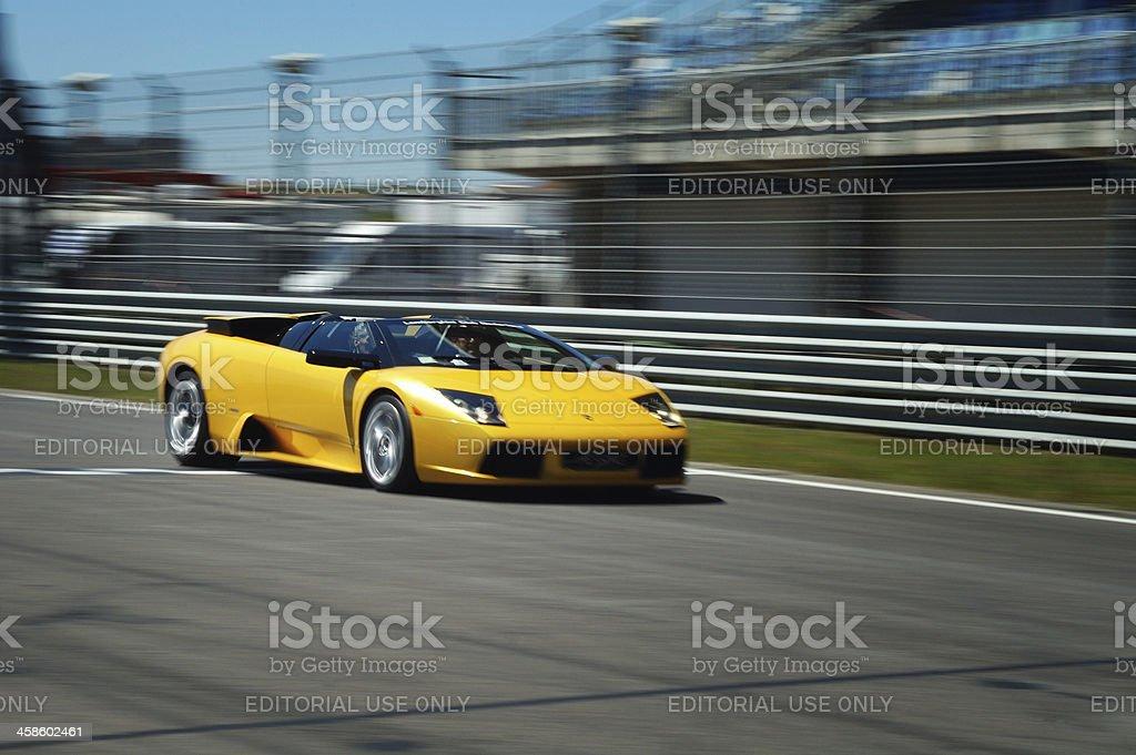 Lamborghini Murcielago Roadster stock photo