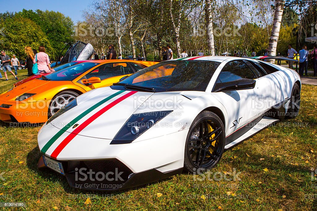 Lamborghini Murcielago SL Superveloce at meeting Top Selection 2016 stock photo