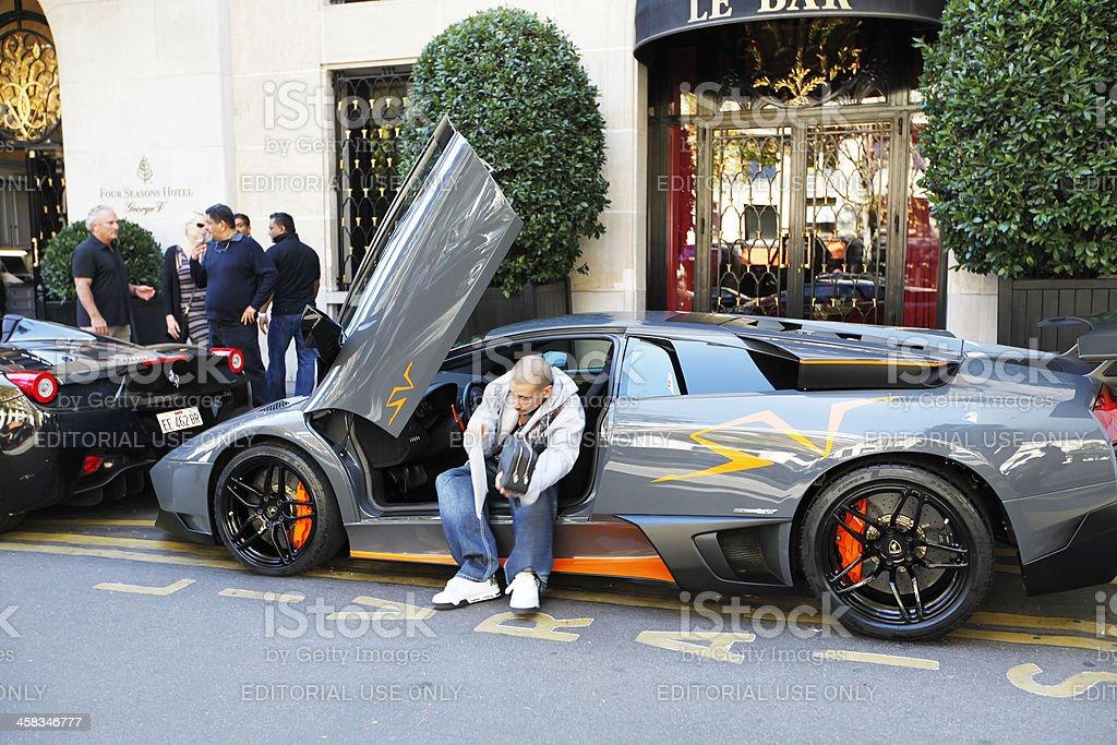 Lamborghini royalty-free stock photo