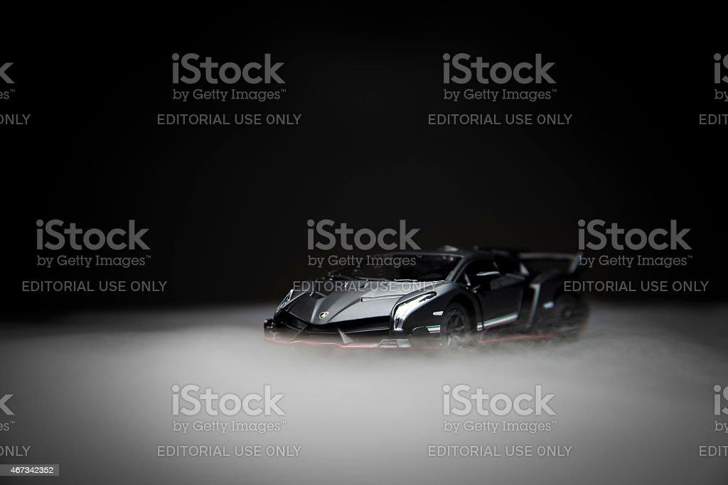 Lamborghini veneno lp750-4 stock photo