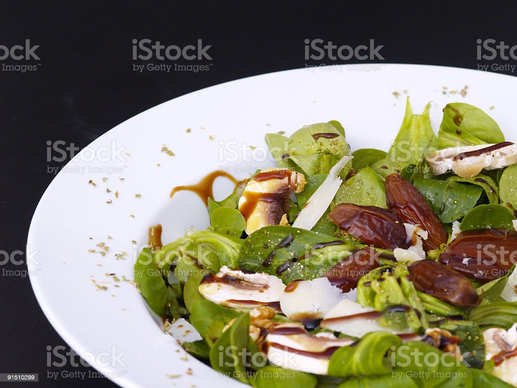 lamb's lettuce royalty-free stock photo