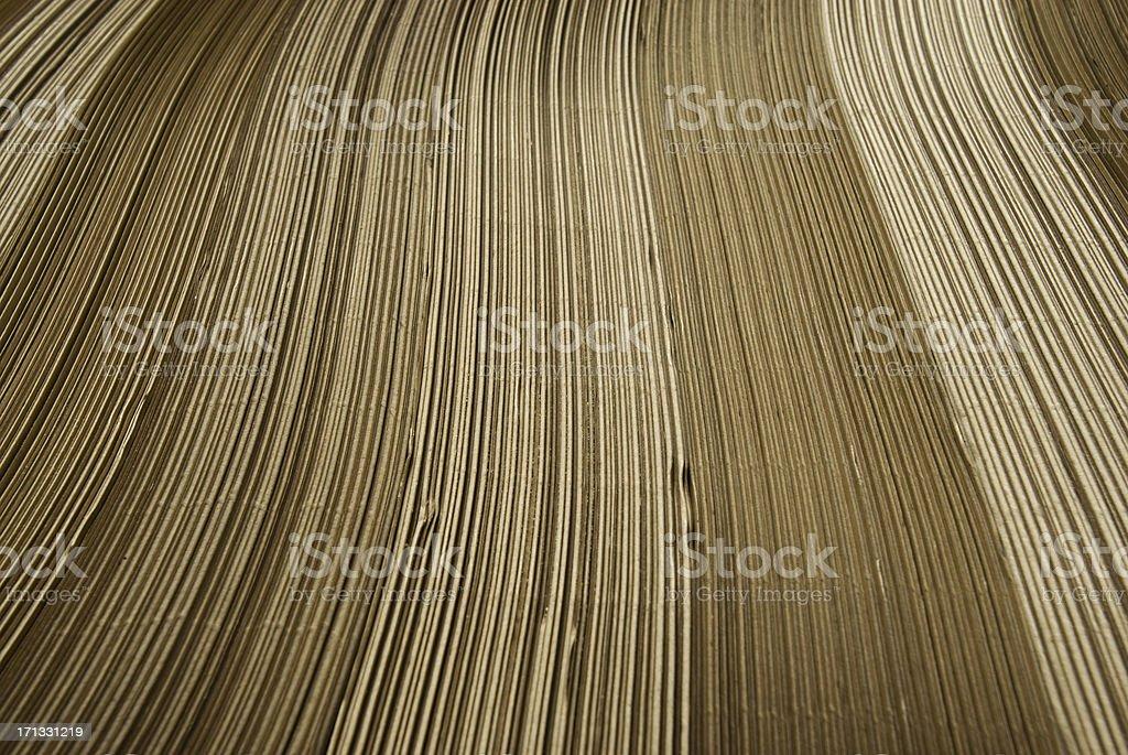 Laminated cardboard royalty-free stock photo