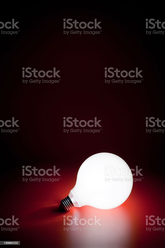 Lamp a background structure light design stock photo