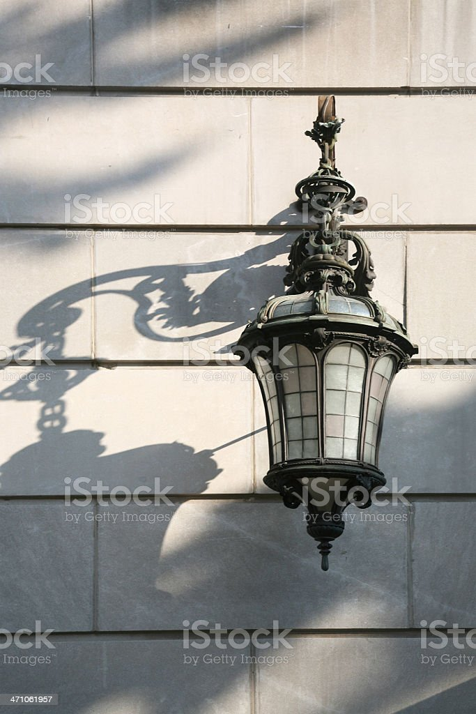 Lamp And Shadow royalty-free stock photo