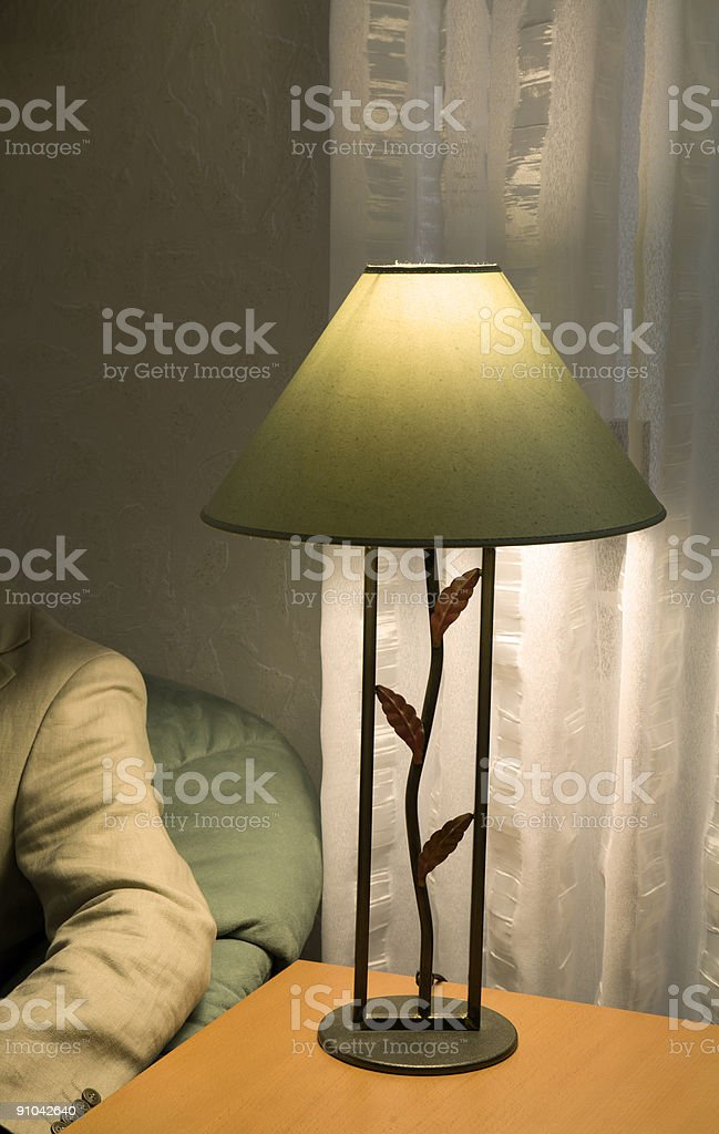 Lamp and sofa /3 royalty-free stock photo
