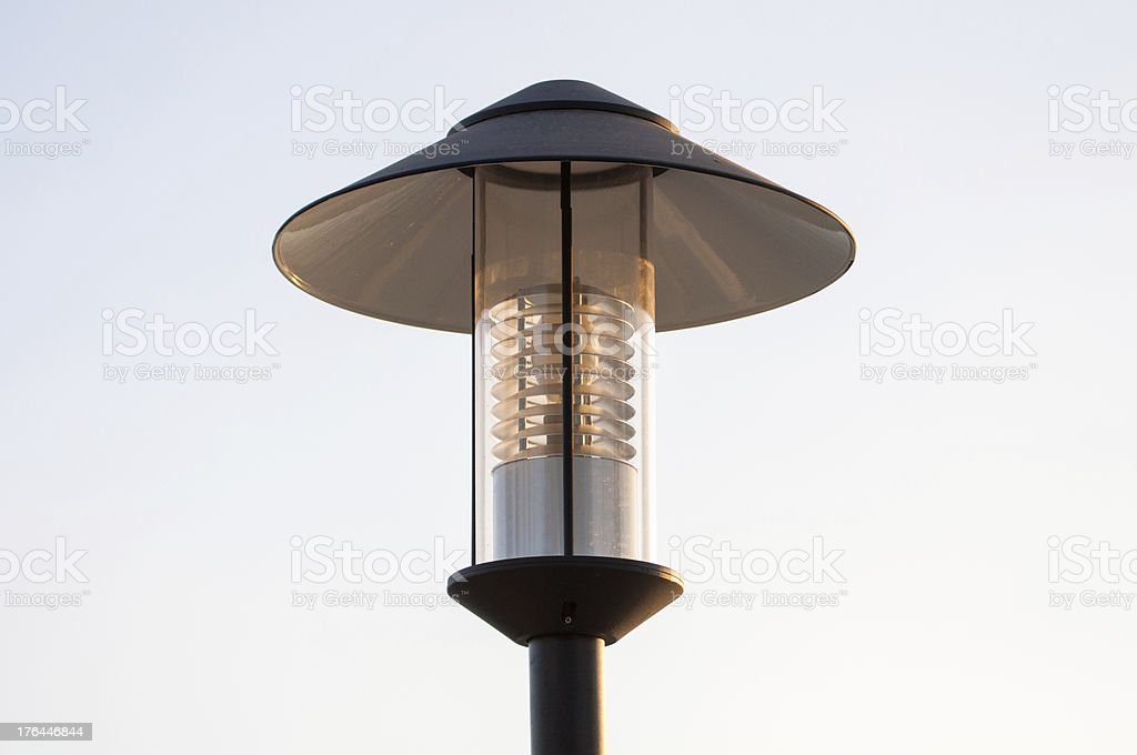Lamp for decorate garden royalty-free stock photo