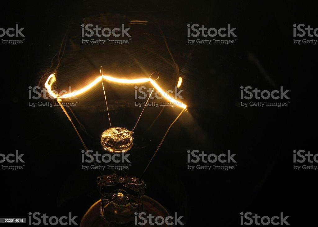 Lampe est parler photo libre de droits