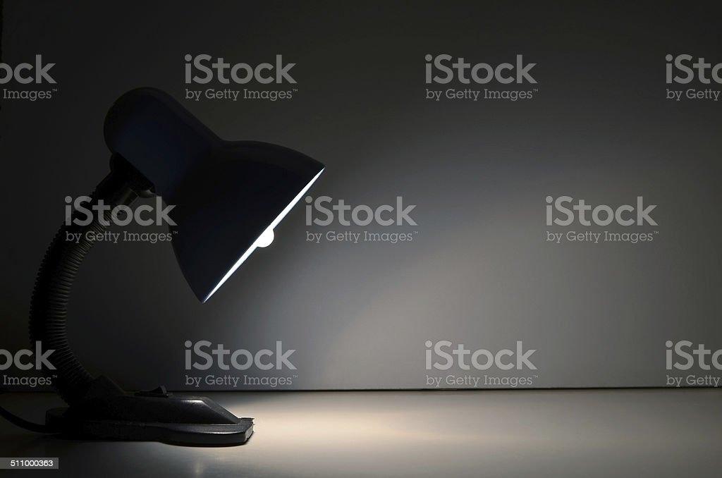 Lamp light stock photo