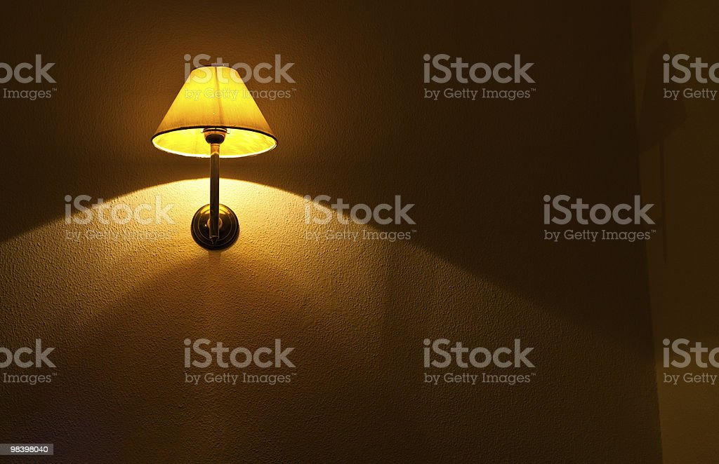 Lamp stock photo
