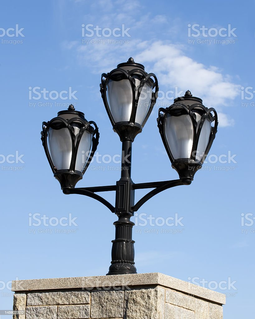 Lamp Post royalty-free stock photo