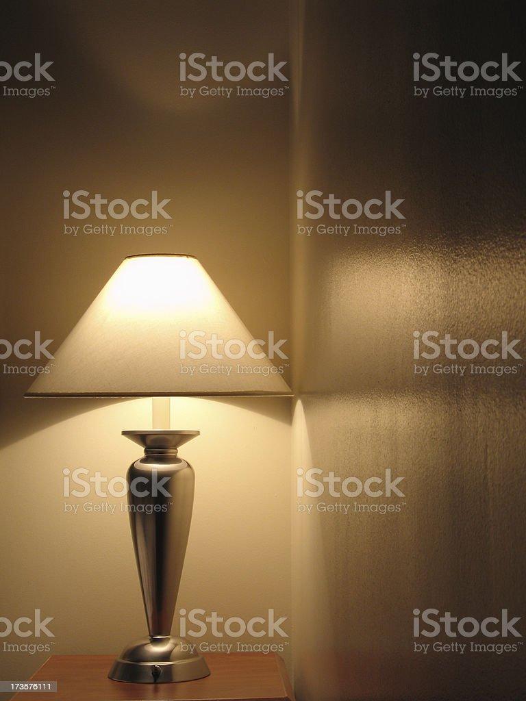Lamp Reflections royalty-free stock photo