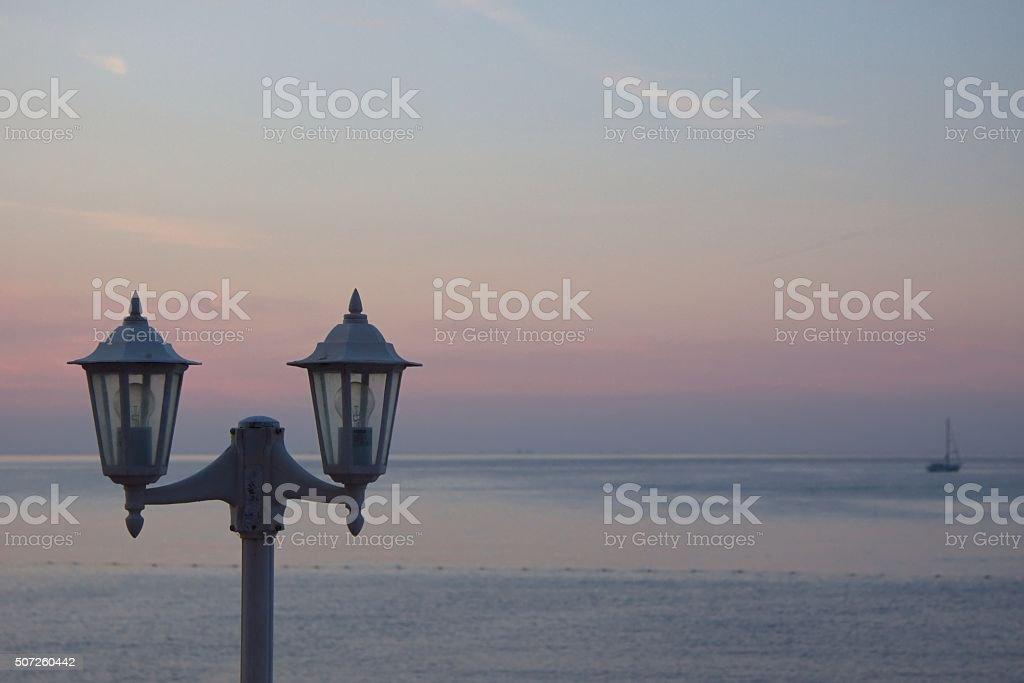 Lamp Stand stock photo