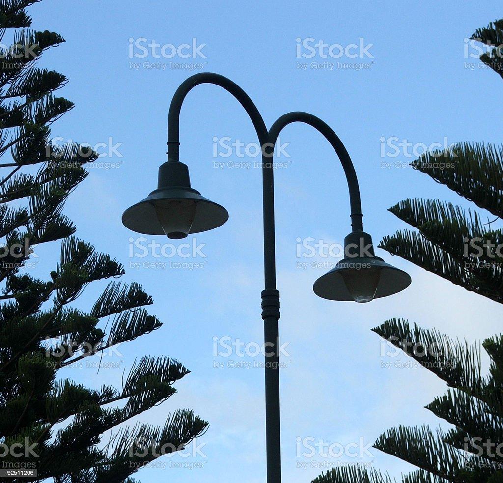 Lamp - street light stock photo