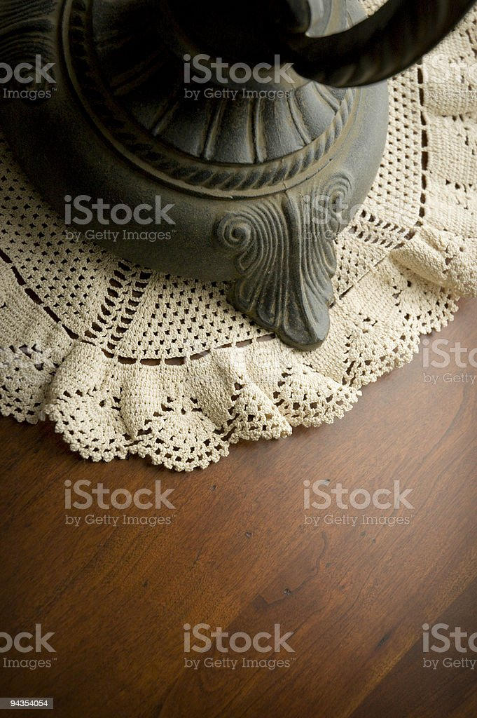 Lamp table royalty-free stock photo