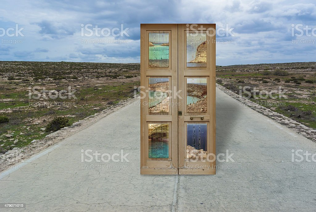 lampedusa composition stock photo