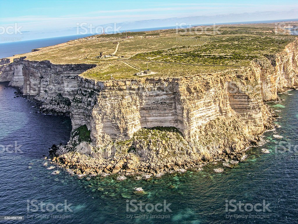 Lampedusa, Sicily Island stock photo
