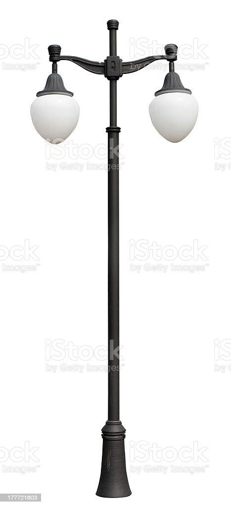lamppost. stock photo