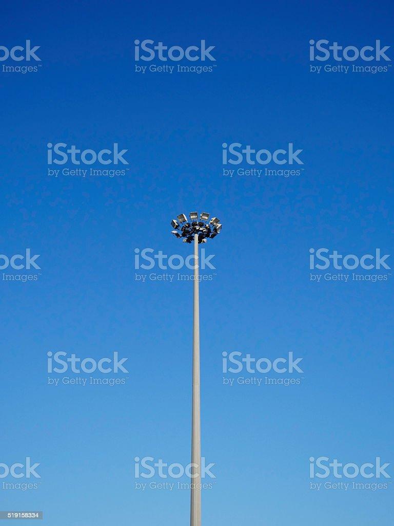 lamppost stock photo