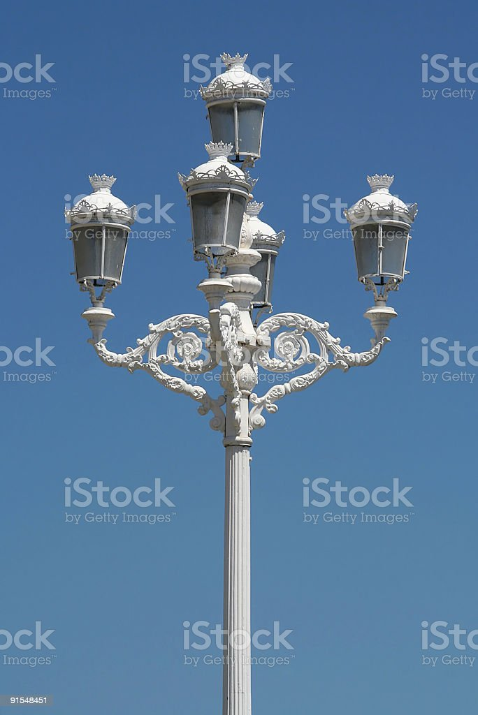 Lamppost royalty-free stock photo