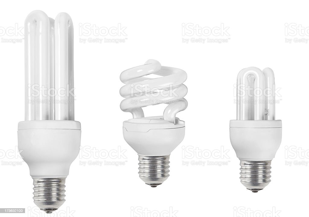 lamps with Clipping Path stock photo