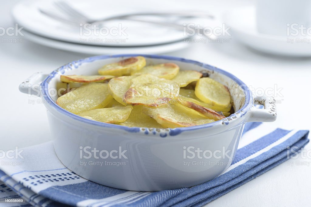 Lancashire hot pot royalty-free stock photo